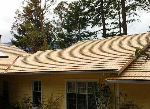 Alaskan Yellow Cedar Roofing Shingles Direct Cedar Supplies