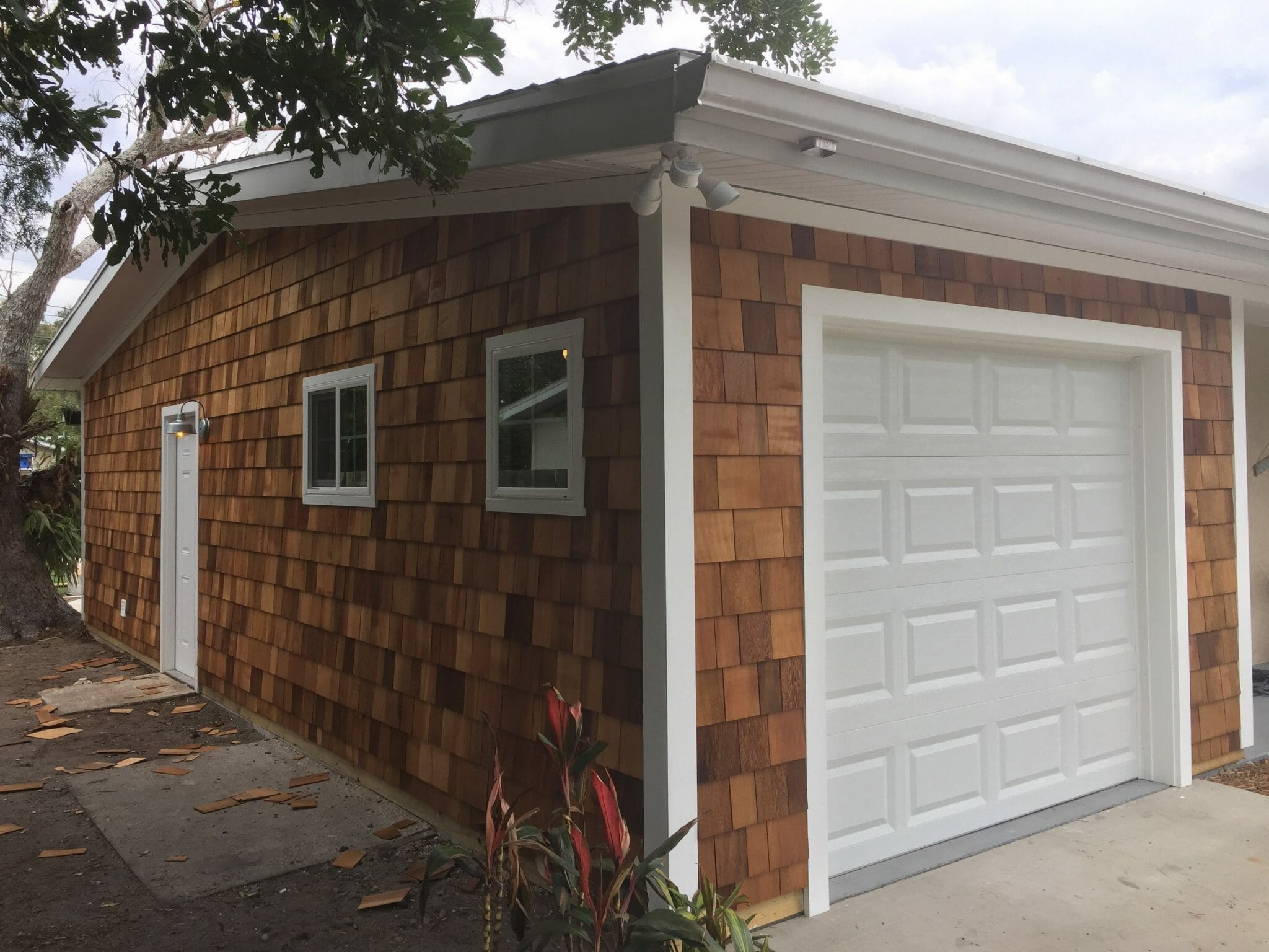 Western red cedar siding shingles direct and